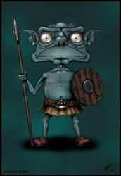 Jake The Goblin by goochtek