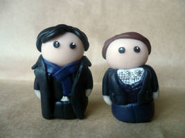 Sherlock and Watson by Tabitha-Habitat