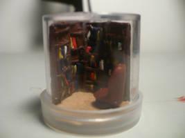 Library in a Bottle by Tabitha-Habitat