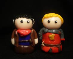 Merlin and Arthur by Tabitha-Habitat
