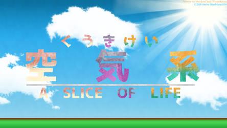 A Slice of Life JP-EN logo by BlueMario1016