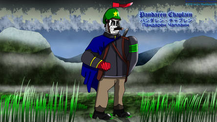 Pandaren Chaplain's alternative look by BlueMario1016