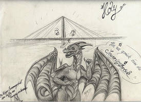 Holy and the Severinsbridge xD by xDunkelseelex