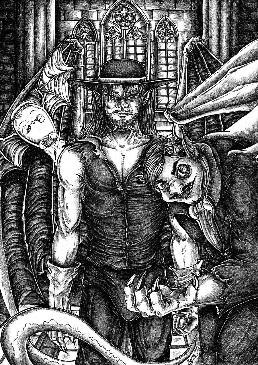 The Undertaker... by xDunkelseelex