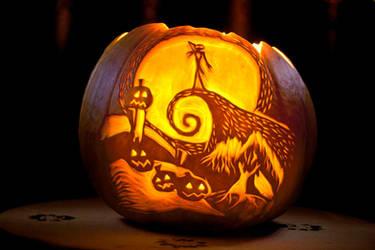 My first Halloween Pumpkin by Saphrian