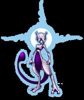 Mewtwo by Kiaun