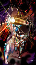 Sacred Light by Kiaun