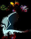 Rasa Drake Examples- Cauda Nchos Chion by inidis
