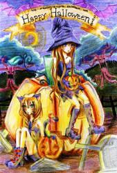 Happy Halloween 2010 by monkey-d-cyntia