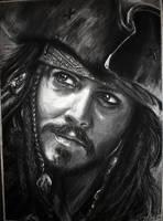 Captain Jack Sparrow by DynastJC