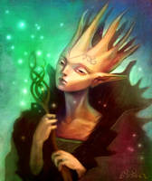 Oberon - King of the Faeries by Busterfish