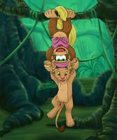 Monkeying Around by Blumalou