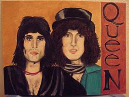 Queen Freddie brian by modastrid