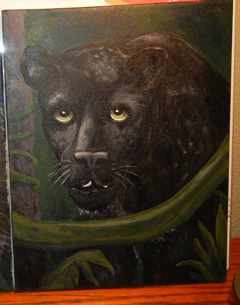Bagheera the Panther by modastrid
