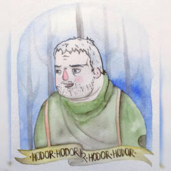 Hodor Hodor by Dvecher