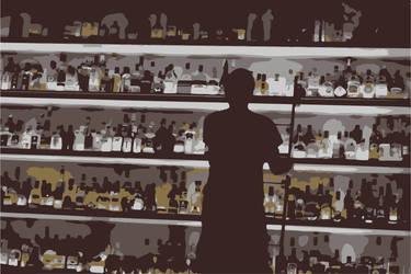 At the bar by mario-metzler