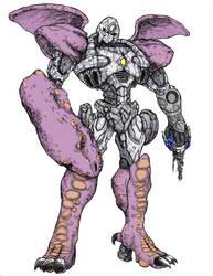 7th-Seal: Megatron Beast Wars by ComicArtistsUnite