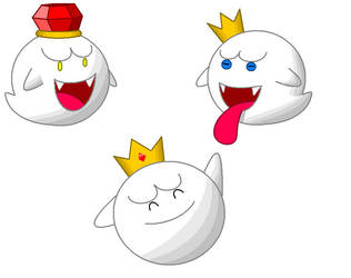 personalities of the king boo by minimariodrawer