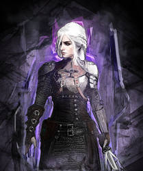 Ciri - The Witcher III by DragonianFantasy