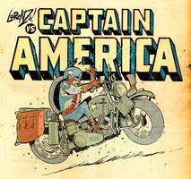 Lorenzo Vs CAPTAIN AMERICA by STUDIOBLINKTWICE