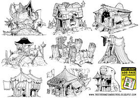 9 Environment Concepts by EtheringtonBrothers