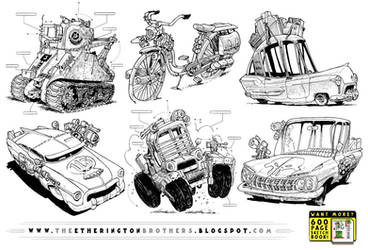 6 Weird Rides by STUDIOBLINKTWICE