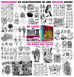 My 2nd 600 page sketchbook is out NOW! by EtheringtonBrothers