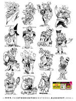 15 Long Gone Don  Character designs by STUDIOBLINKTWICE