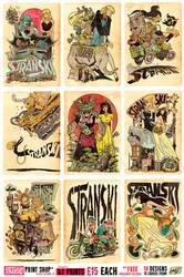 A2 Stranski Prints - 15 pounds each, FREE DELIVERY by EtheringtonBrothers