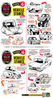 How to draw CARS VEHICLES TRUCKS CONCEPTS tutorial by STUDIOBLINKTWICE