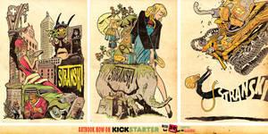 Artwork from my NEW ART BOOK on KICKSTARTER NOW! by STUDIOBLINKTWICE