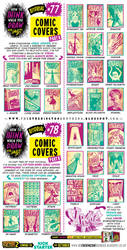 How to draw COMIC COVERS tutorial by EtheringtonBrothers
