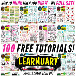 Links to 100 FREE TUTORIALS! by STUDIOBLINKTWICE