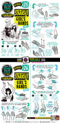 How to draw STRANSKI GIRL'S HANDS tutorial pt ONE! by EtheringtonBrothers