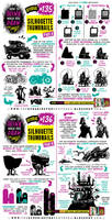How to draw SILHOUETTE THUMBNAILS tutorial by EtheringtonBrothers