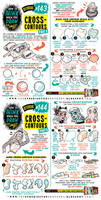 How to draw CROSS-CONTOURS tutorial by EtheringtonBrothers
