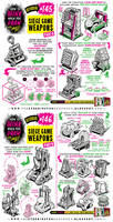 How to draw SIEGE WEAPONS tutorial by EtheringtonBrothers
