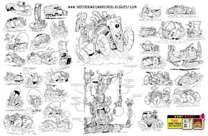 37 VEHICLES! by STUDIOBLINKTWICE