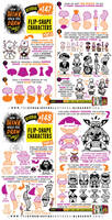 How to draw FLIP-SHAPE CHARACTERS tutorial by EtheringtonBrothers