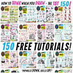 Links to EVERY ONE of my 150 FREE TUTORIALS! by EtheringtonBrothers