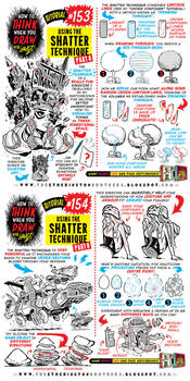 How to draw using the SHATTER TECHNIQUE tutorial by EtheringtonBrothers