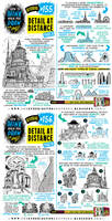 How to draw DETAIL AT DISTANCE tutorial by STUDIOBLINKTWICE