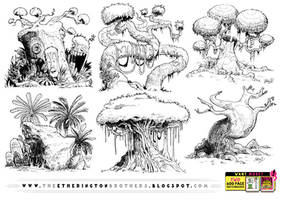 6 GIANT TREE REFERENCES! by STUDIOBLINKTWICE