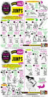 How to draw JUMPS tutorial by EtheringtonBrothers