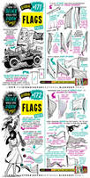 How to draw FLAGS tutorial by EtheringtonBrothers