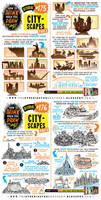 How to draw CITYSCAPES tutorial by EtheringtonBrothers
