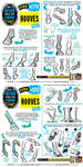 How to draw HOOVES tutorial by STUDIOBLINKTWICE