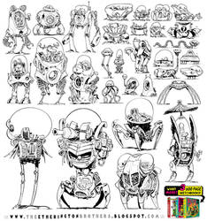 31 ROBOT REFERENCES! by STUDIOBLINKTWICE