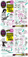 How to draw HANDS (parts 3 and 4) tutorial by STUDIOBLINKTWICE