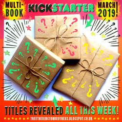 ANNOUNCING ... our RETURN to KICKSTARTER! by STUDIOBLINKTWICE